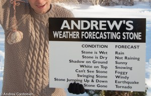 Weather Forecasting Stone-1